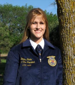 Brooke Jindra, Nebraska FFA State Vice President