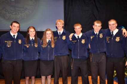 2013-14 Nebraska FFA State Officers