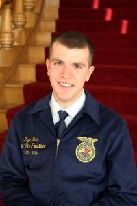 Dylan Dam, Nebraska FFA State Vice President