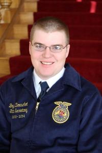 Bryce Doeschot, Nebraska FFA State Secretary