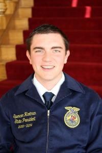 Spencer Hartman, Nebraska FFA State President