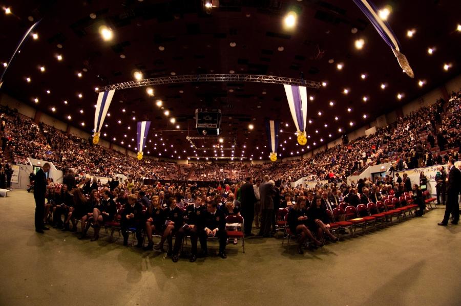 2013 Nebraska FFA Convention at Pershing Auditorium