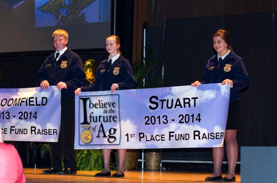 2013-14 I Believe in the Future of Ag winners, Stuart FFA