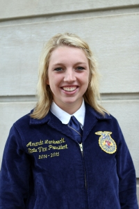 Amanda Lambrecht, Nebraska FFA State Vice President