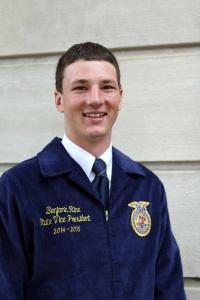 Ben Rice, Nebraska FFA Vice President