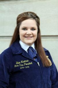 Blair Hartman, Nebraska FFA Vice President