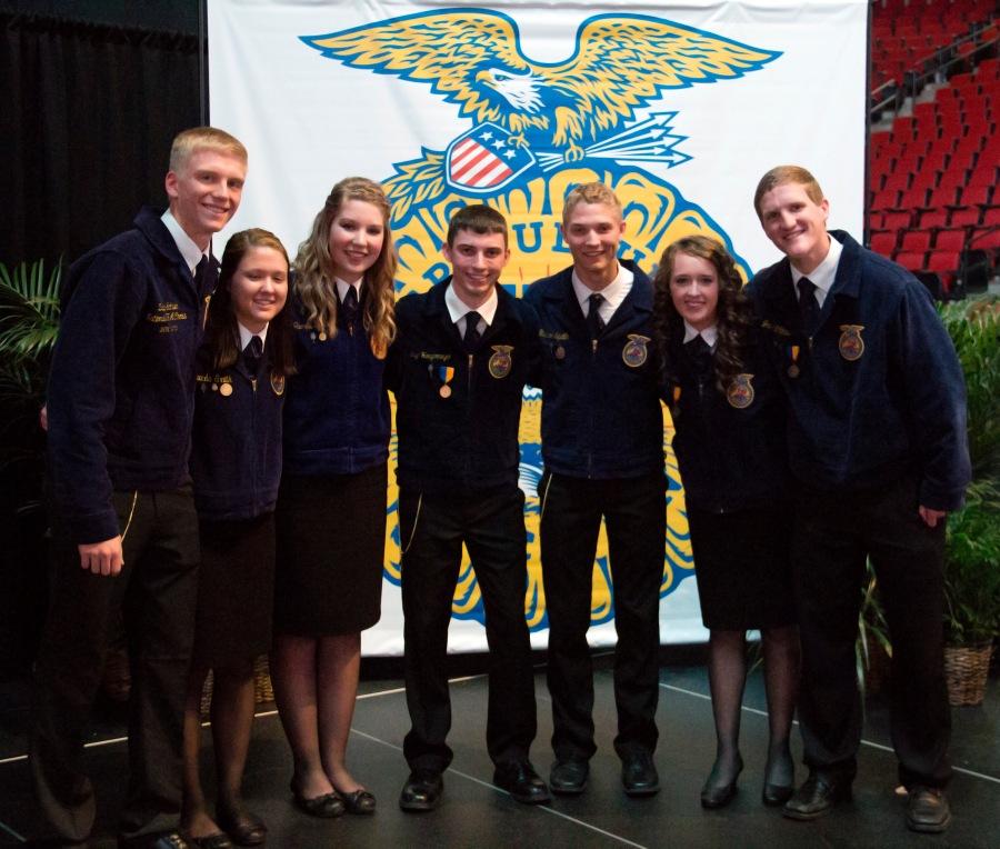 2015-16 Nebraska FFA State Officers